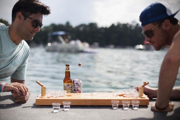 Mini Tabletop Drinking Games
