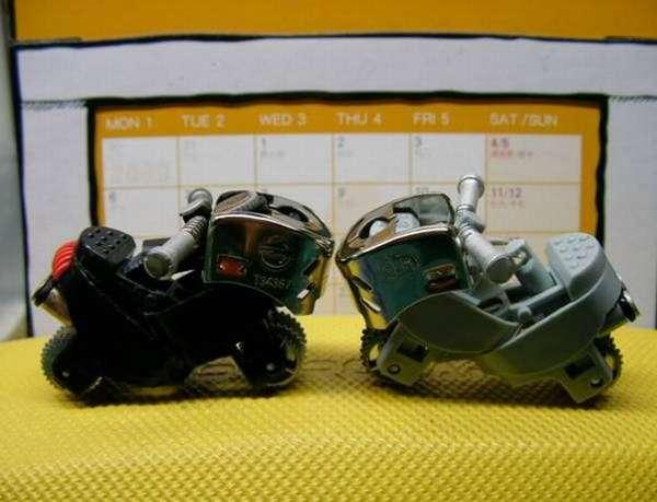 Makeshift Miniature Motorcycles