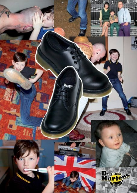 Mini Toddler Combat Boots