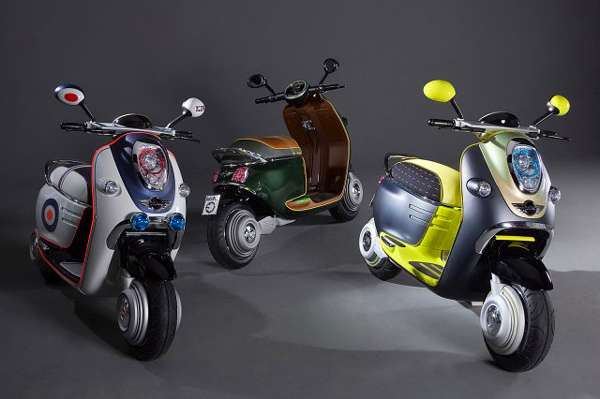 Retro-Modern Eco Scooters
