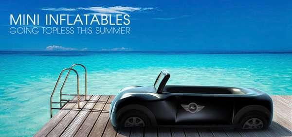 Car-Inspired Beach Toys