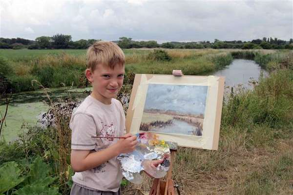 Mini Monet' Kieron Williamson