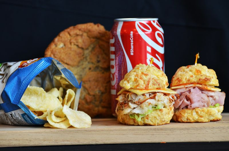 Mini Scone Sandwiches
