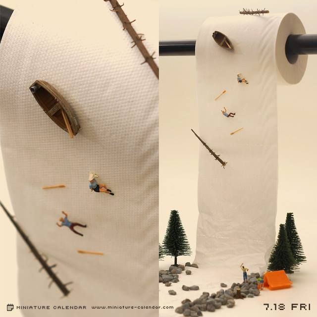 Mundane Object Dioramas