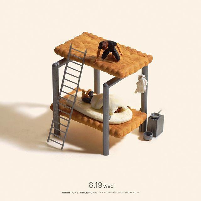 Subverted Miniature Dioramas