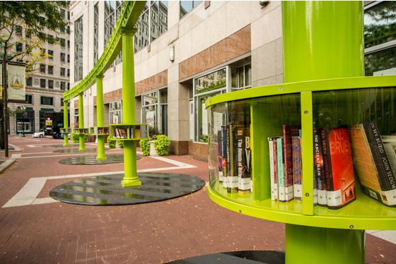 Artistic Pop-Up Libraries