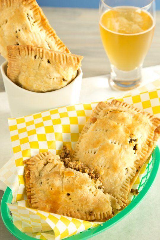 Savory Hamburger Hand Pies