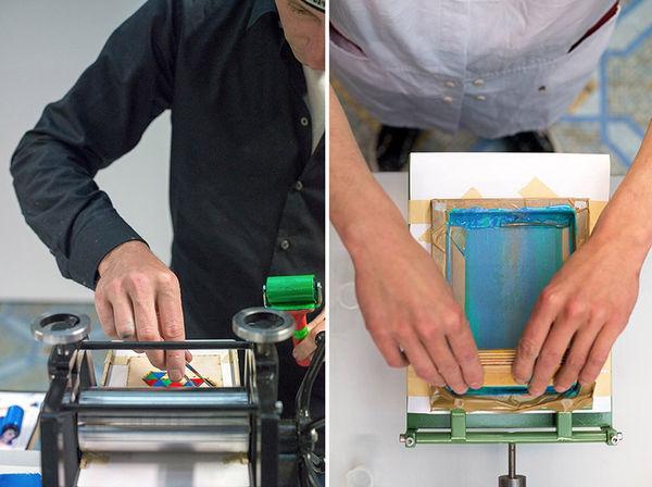 Mobile Miniature Printing Machines
