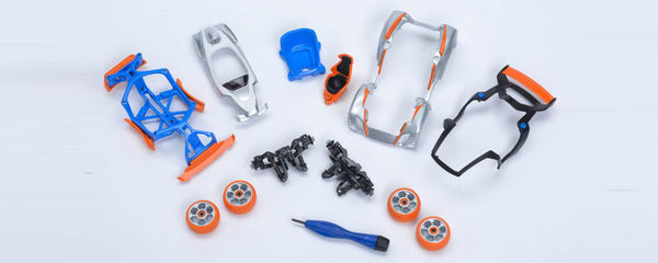 Miniature Robotic Toy Cars