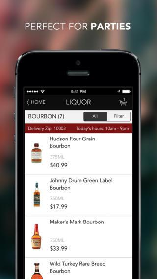 Booze-Delivering Apps