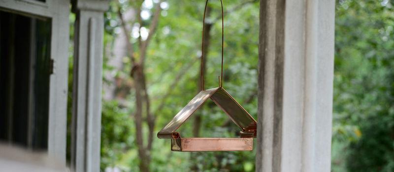 Minimalist Bird Feeders