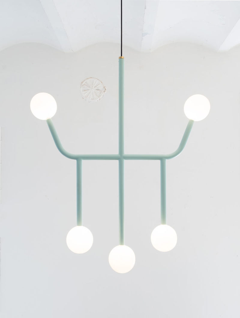 Circuit-Inspired Chandeliers