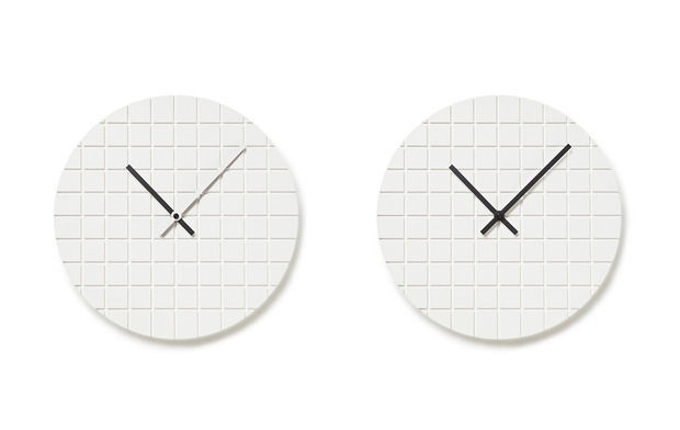 Minimalist Grid Clocks