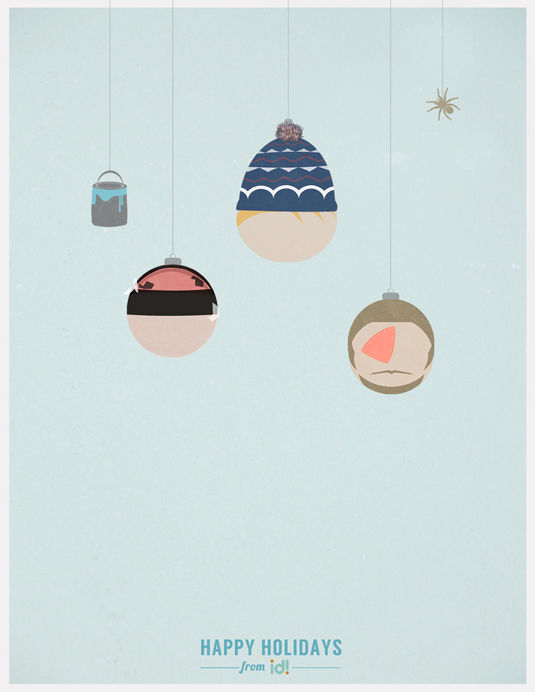 Minimalist Christmas Movie Posters