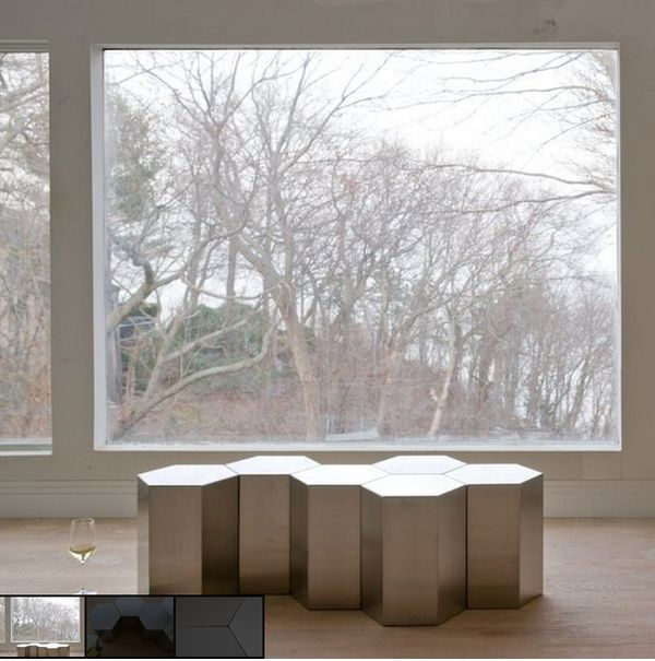 Minimalist Modular Coffee Tables