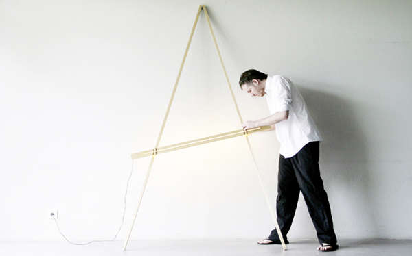 Modern Easel-Like Lamps