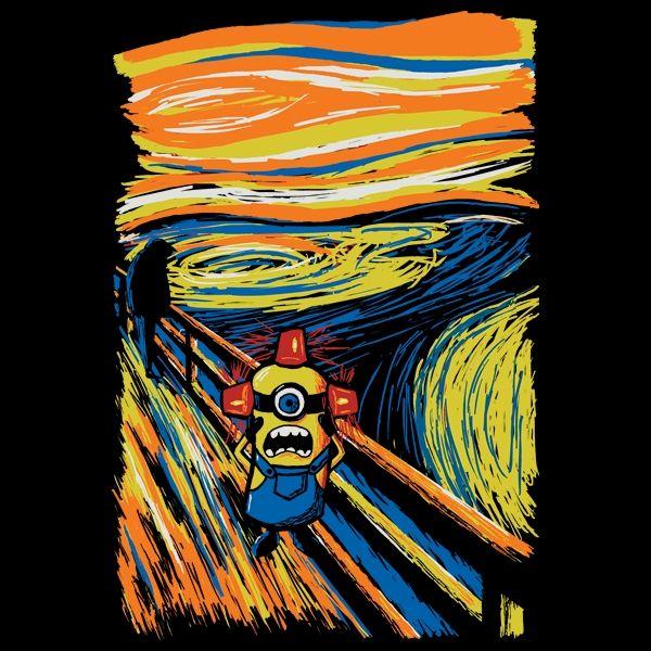 Cartoon-Painting Hybrid Shirts