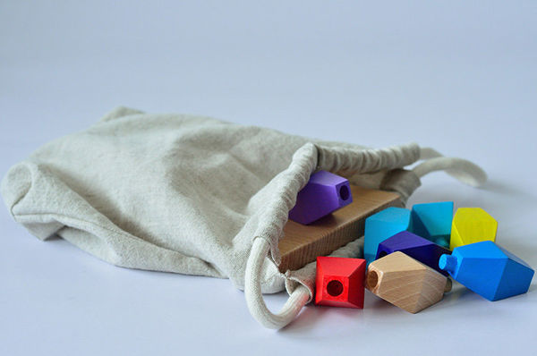 Colorful Stackable Wooden Toys