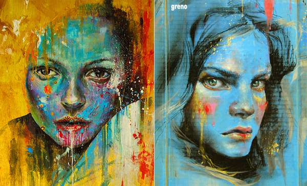 Explosive Expressive Color Art