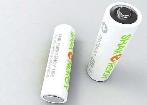 Self-Recharging Batteries