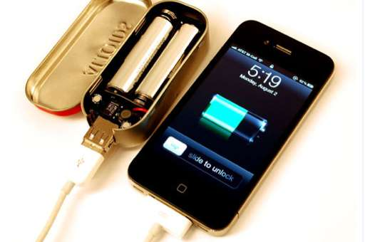 Mint Tin Emergency Chargers
