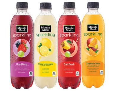 Sparkling Fruit Juices