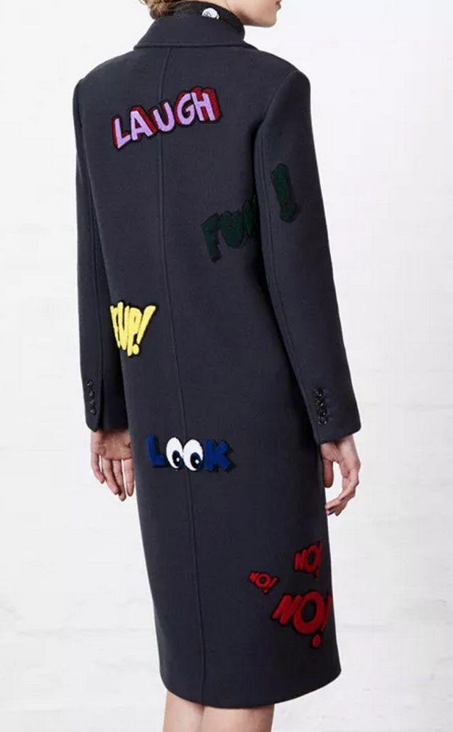 Cartoon Tailored Coats