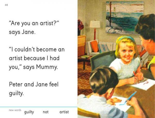 Art Lampooning Kid's Literature