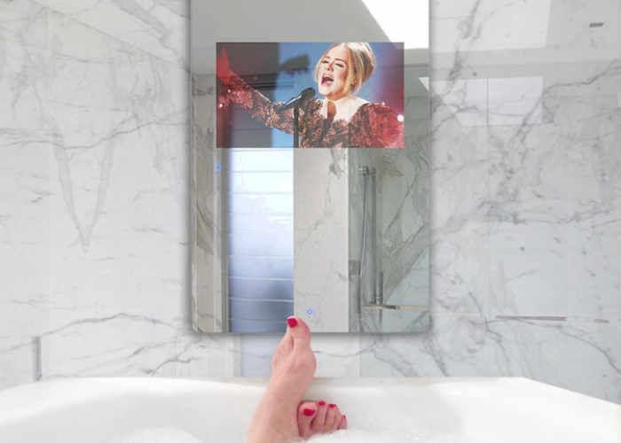 Waterproof Touchscreen Display Mirrors