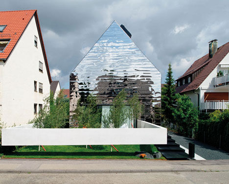 Rippling Reflective Houses