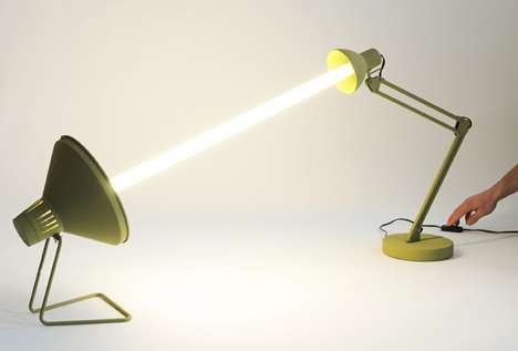 Bulb-Sharing Desk Lamps