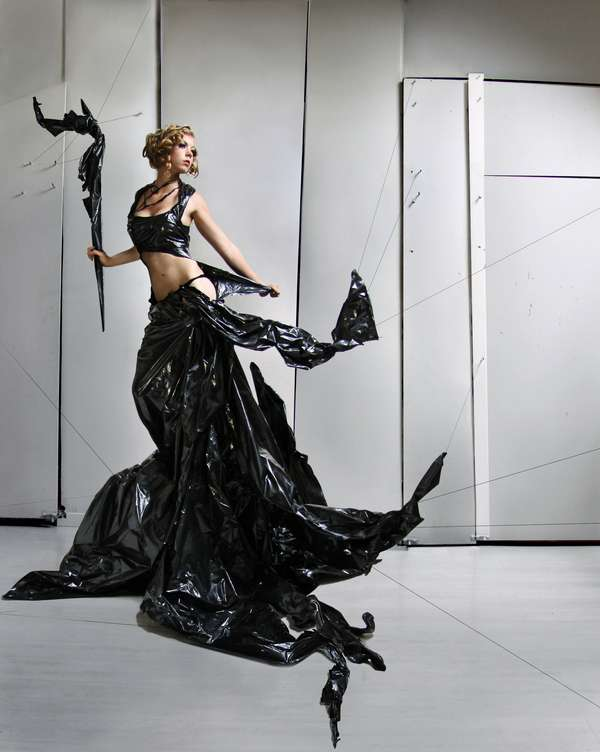 Garbage Bag Gowns