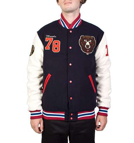 Grown-Up Letterman Outerwear