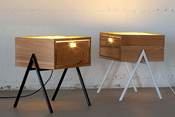 Bright Bedside Tables Misko Table Lamp