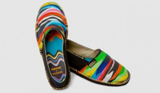 Psychedelic Slip-Ons
