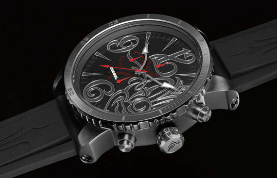 Luxuriously Inked Timepieces