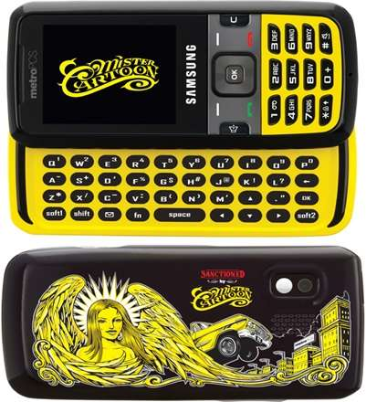 Mister Cartoon Motorola Phone