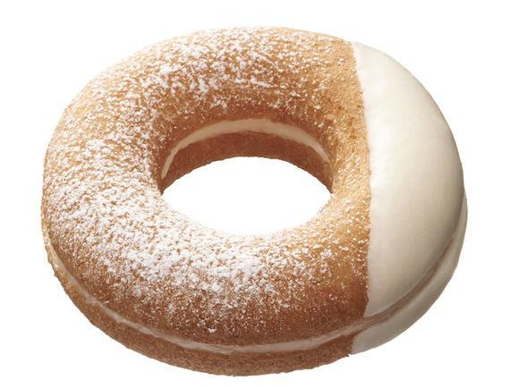 White Yogurt Donuts
