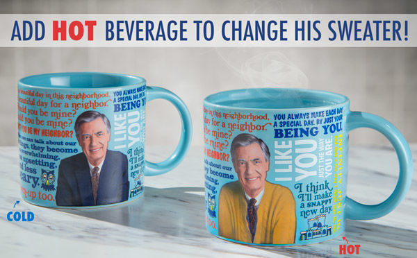 Outfit-Changing Mugs