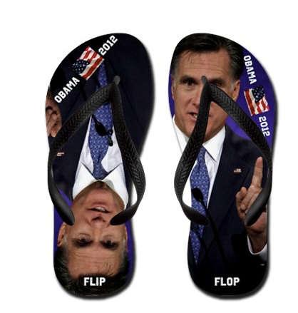 Comedic Presidential Footwear