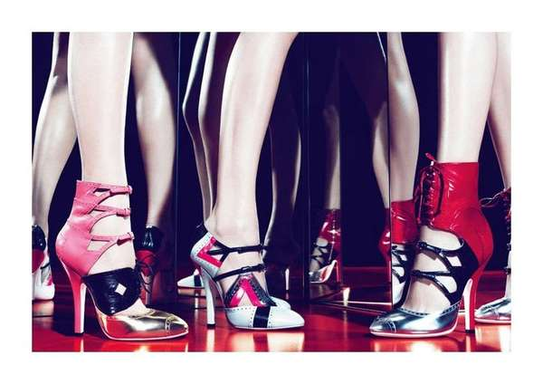 Red Carpet Shoe Ads