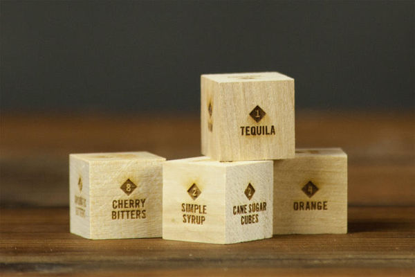 Crowdsourced Cocktail-Creating Dice