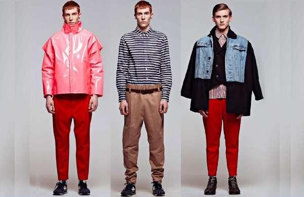 Elegantly Subversive Menswear