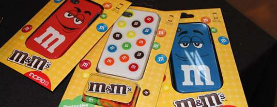 M&M iPhone case