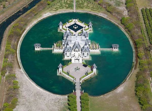 moat, mansion, luxury, manor