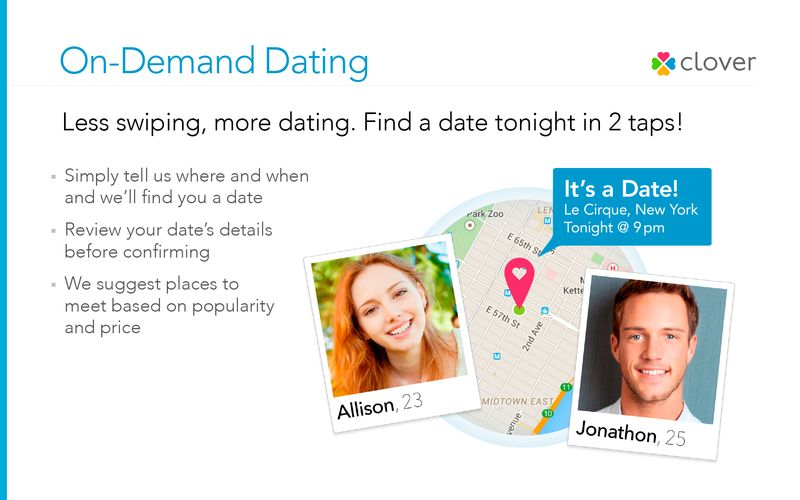 On-Demand Dating Apps