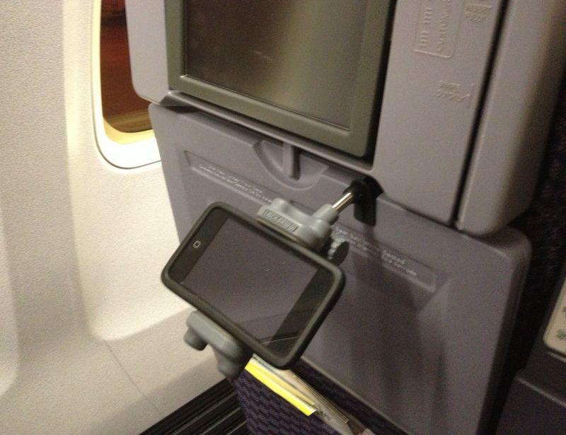 In-Flight Phone Mounts
