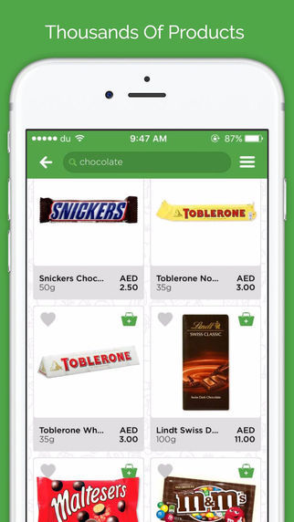 App-Only Supermarkets