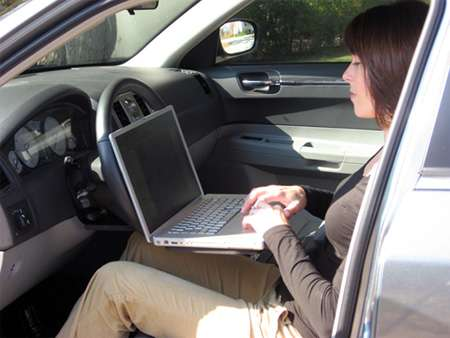 Steering Wheel Desks