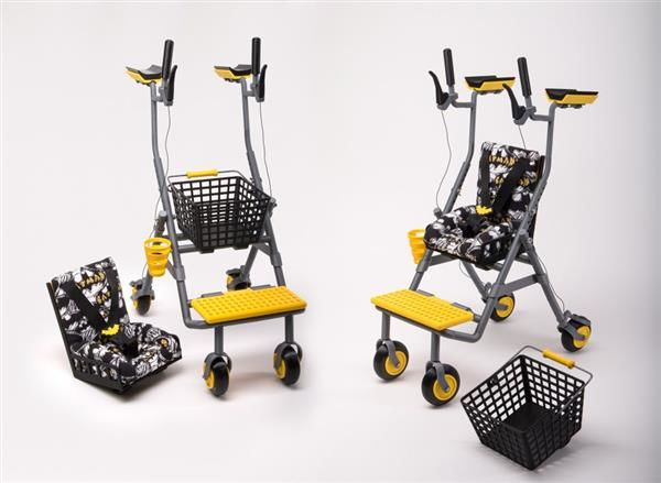 3D-Printed Multifunctional Walkers